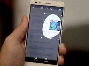 Capture d'écran huawei